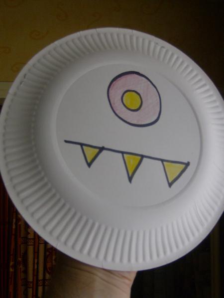 Enfant Fabrication Marionnette Assiette En Papier Fabriquer Pictures